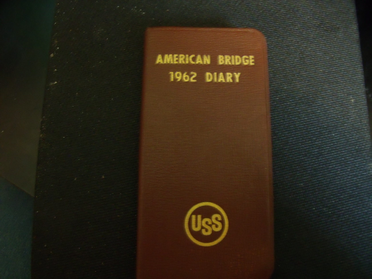 Original 1962 American Bridge Diary issued by US Steel