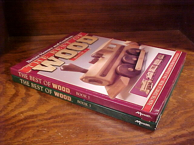 Lot of 2 Best of Wood Series Books, no. 1 and 3, Woodworking