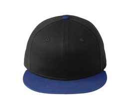 New Era 9Fifty Flat Brim Snapback Hat Cap Blank Black Royal  950 new - $12.00