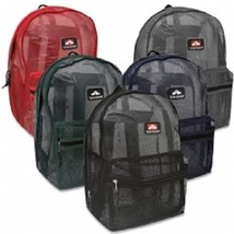 """Mesh """"See Through"""" Trailmaker Backpack New With Tags - $13.95"""