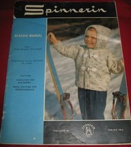 Spinnerin Classic Manual Part I From Infancy to 8 Yrs 1966 Knit Patterns... - $5.83