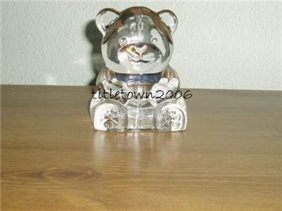 Partylite Teddy Bear Tealite Holder RETIRED Party Lite