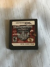 Transformers: Autobots (Nintendo DS, 2007) Cart Only Tested Rare - $9.99