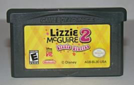 Nintendo GAME BOY ADVANCE - Lizzie McGuire 2 - Lizzie Diaries (Game Only) - $6.25