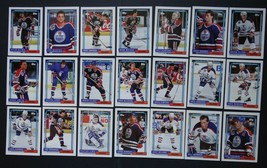 1992-93 Topps Edmonton Oilers Team Set of 21 Hockey Cards - $4.00
