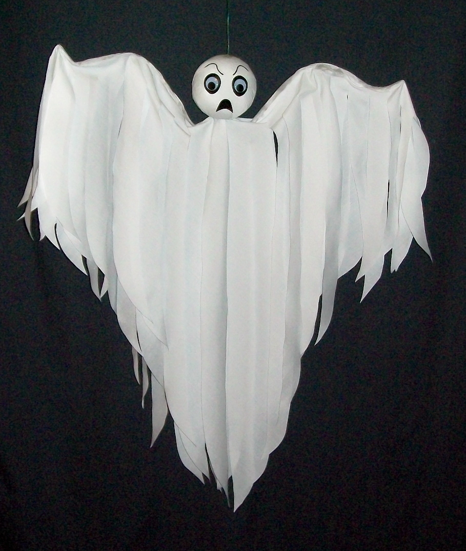 Spooky Hanging Ghost Halloween Decoration