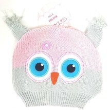 SoDorable Owl Girl Knit Beanie Stocking Cap Hat Infant Toddler 6-12 Mont... - $10.39