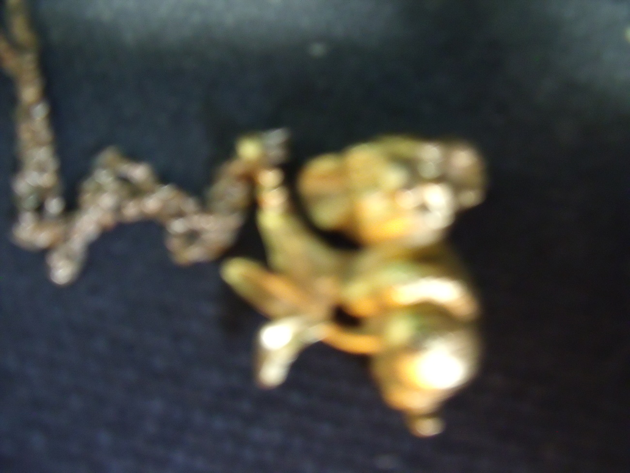 Kaola Gold Plated Pendant and Chain