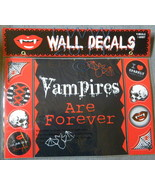 Vampires are Forever Wall Decoration Decals 9 decals on 1 sheet in Package  - $3.99