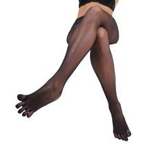Women Seamless Sheer Separate 5 Toe Glove Pantyhose Transparent Tights Stockings - $15.16
