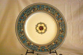 "Wedgwood 2019 Florentine Turquoise Dinner Plate 10 5/8"" #2417 New Backstamp - $26.33"
