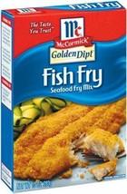 McCormick Golden Dipt Fish Fry Seafood Fry Mix, 6 boxes - $19.99