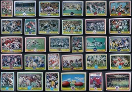 1981 Fleer Team Action Football Cards Complete Your Set You Pick From List 1-88 - $0.99+