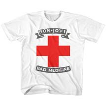 Bon Jovi Bad Medicine Youth T Shirt 2T-YXL Rock Music - $17.58
