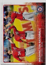 2015 Topps Baseball Card, #160, Washington Nationals, Team Card - $0.99