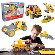 [Bonus Bag] Simbans JB 148 pcs 5-in-1 Build and Play Toy Set | Kids STEM... - $45.07