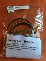 Jewelry Making Kit Twisted Cord Bracelet JTV NEW - $9.90