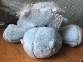 Ganz Webkinz Blue Hippo Hippopotamus Plush Stuffed Animal Toy No Code - $9.90