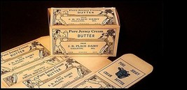 Pure Jersey Cream Butter Sleeves AB 360 – Antique Missouri image 1