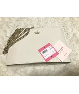 Kate Spade Cameron Street Sima Crosshatched Leather Clutch & Crossbody B... - $79.19