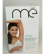Me Chic Permanent Hair Reduction Iluminage Beauty Laser Hair Removal New - $148.45