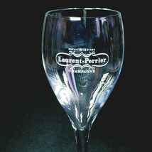 "2 (Two) LAURENT-PERRIER Maison Fonde'e 1812 Crystal Champagne Flutes 7 3/4"" Tall image 4"