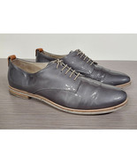 The Rail 'Flint' Wingtip Walnut Brown Leather Mens Size 10-10.5 / 44 - $37.49