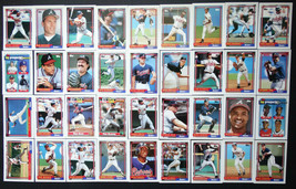 1992 Topps Atlanta Braves Team Set of 36 Baseball Cards - $12.99