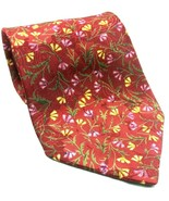 Christian Dior Monsieur Pink Yellow Floral Novelty Tie - $17.82