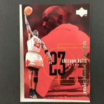 Michael Jordan 1998-99 Upper Deck Checklist #175 NBA HOF Chicago Bulls - $2.92
