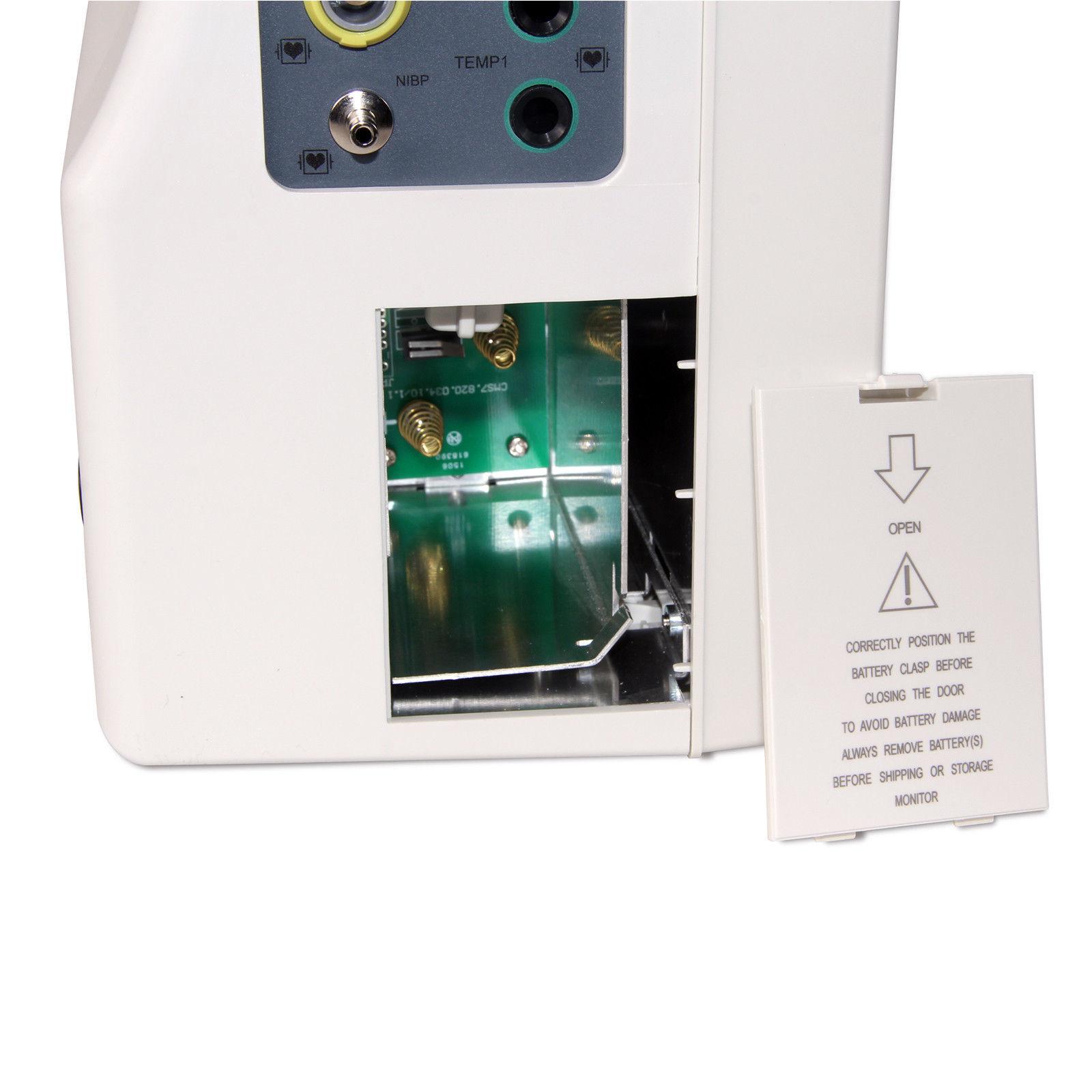 CONTEC CMS7000 Portable ICU Patient Monitor Vital Signs 6 Parameter Free Printer