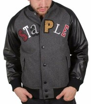 Staple New York MVP Most Valuable Pigeon Good Luck Wool Varsitity Jacket NWT image 1