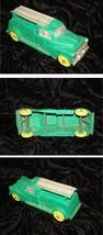 Green Bell Telephone Truck Vintage Toy Truck Auburn Rubber 1950s - $34.99