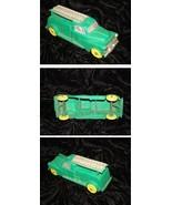 Green Bell Telephone Truck Vintage Toy Truck Auburn Rubber 1950s - $36.99