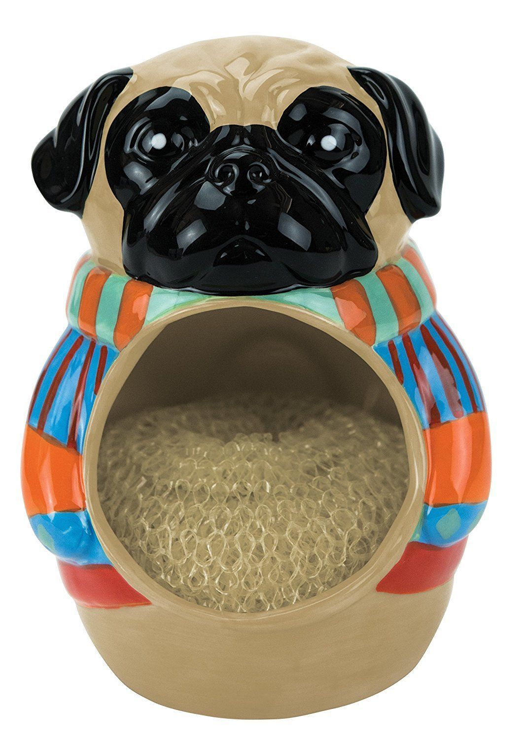Pugly Dog Sweater Scrubby/Sponge Holder