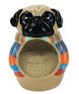 Pugly Dog Sweater Scrubby/Sponge Holder - $7.99