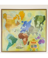 Risk World Conquest Replacement Game Board Only Craft Wall Art Map 1975 - $9.99