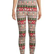 No Boundaries Ladies Juniors XL Christmas Soft Velour Leggings Stretch NEW - $10.67