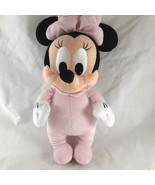 """Disney Babies Minnie Mouse Plush Doll Pink Bow 13"""" No blanket - $7.91"""