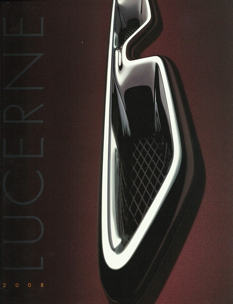 2008 Buick LUCERNE sales brochure catalog US 08 CX CXL CXS