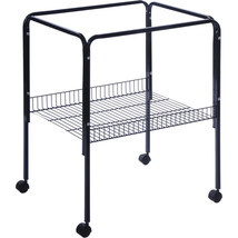 Prevue Pet  Black Bird Cage Stand 26x22x29.5 Inch 048081252109 - £50.41 GBP