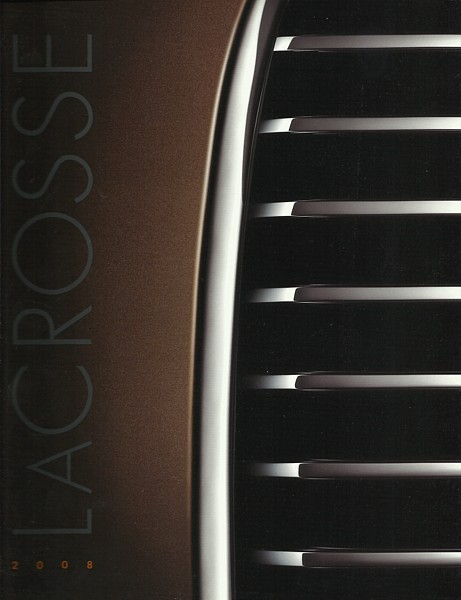 2008 Buick LACROSSE sales brochure catalog US 08 CX CXL CXS Super ALLURE