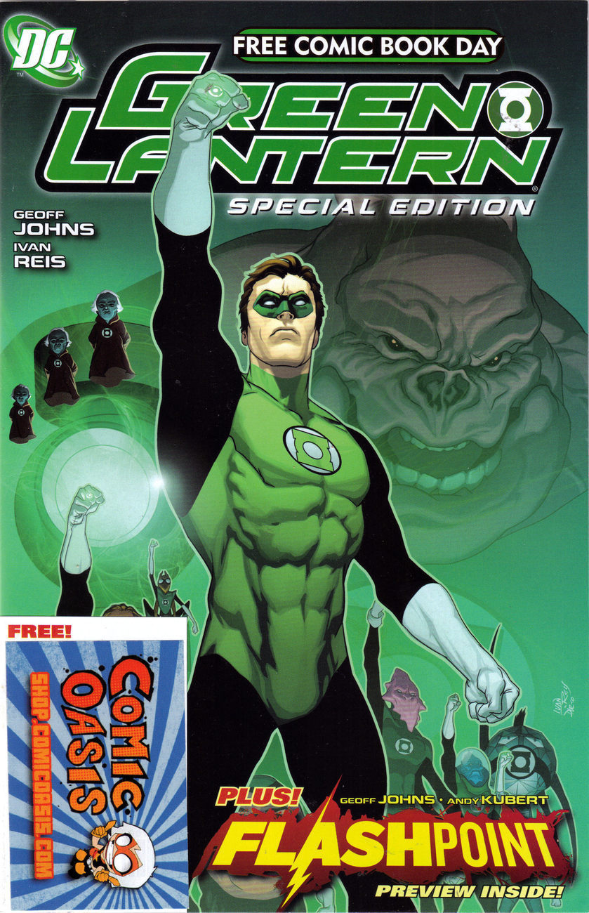 GREEN LANTERN Special Edition + FLASHPOINT Preview by DC FCDB