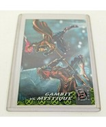 Gambit vs Mystique (1994) Fleer Ultra X-Men Chase Card 3 of 6 - $28.50