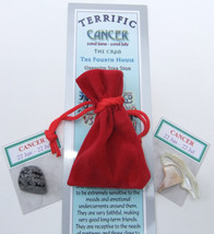 CANCER - Bookmark & Birthstones - plus a Red Velvet pouch and my book 'A... - £3.02 GBP