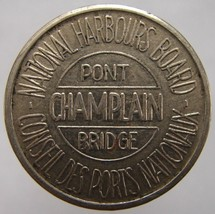 VINTAGE CANADA MONTREAL NATIONAL HARBOURS BOARD PONT CHAMPLAIN BRIDGE TOKEN - $4.99
