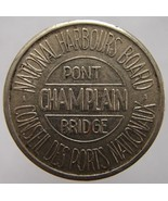 VINTAGE CANADA MONTREAL NATIONAL HARBOURS BOARD PONT CHAMPLAIN BRIDGE TOKEN - $6.61 CAD