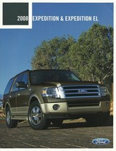 2008 Ford EXPEDITION brochure catalog US 08 EL EDDIE BAUER KING RANCH - $8.00