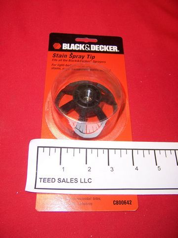 Black and Decker Airless Stain Spray Tip C800642