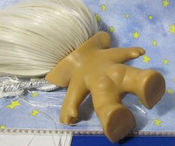 SMILING ROOTIE 3-IN Custom Troll Doll rooted vintage 60s Martian Moon Wand Alien image 9